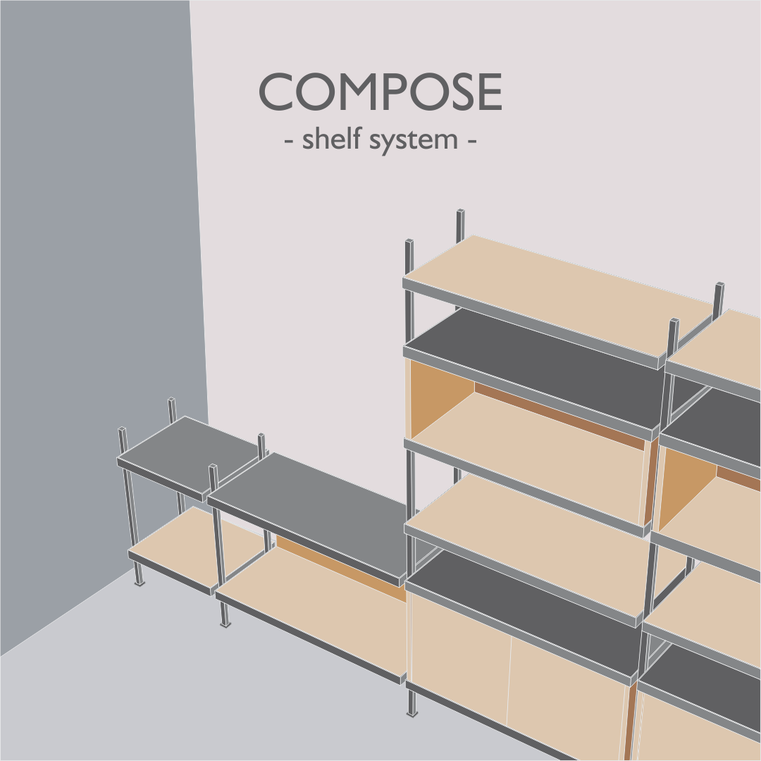 Compose – Shelving System